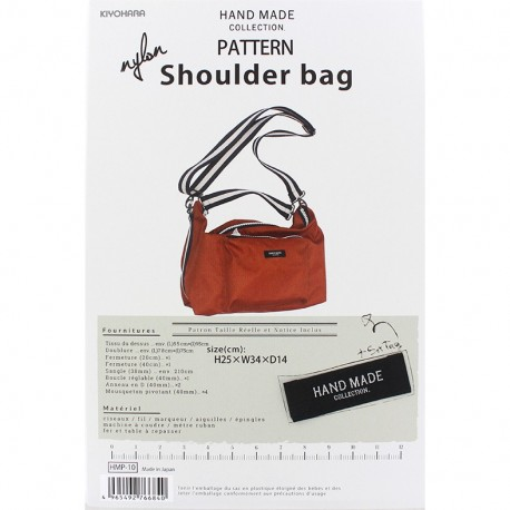 "Patron Sac Hand Made collection ""Nylon Shoulder Bag"""