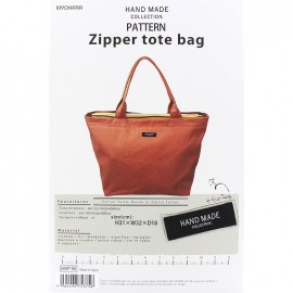 "Patron Sac Hand Made collection ""Zipper Tote bag"""