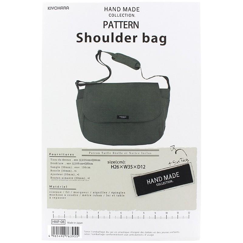 Shoulder Bag 26cm x 35cm x 12cm sewing patter, HandMade Collection ...