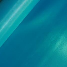 Tissu bachette nylon turquoise (73 cm) x 10 cm