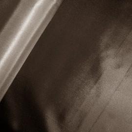 Tissu bachette nylon marron (73 cm) x 10 cm