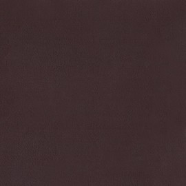 ♥ Coupon tissu 100 cm X 140 cm ♥ Faux leather/suede - burgundy/beige