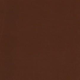 Simili cuir envers suédine terracotta/beige x 10cm