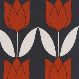Tissu Tulip - paprika x 21cm