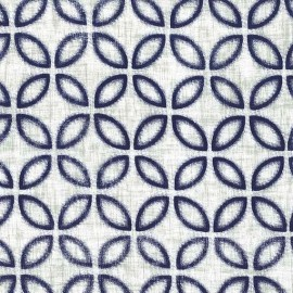 Fabric Yukiko - midnite x 10cm