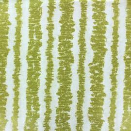 ♥ Coupon 115 cm X 110 cm ♥ Tissu Glitz Bars - bright white