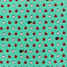 Tissu coton Apple Party opaline x 10cm
