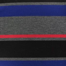 Tissu Jersey Rayado marine x 17cm