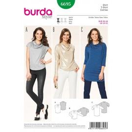 Patron T-shirt Burda n°6695