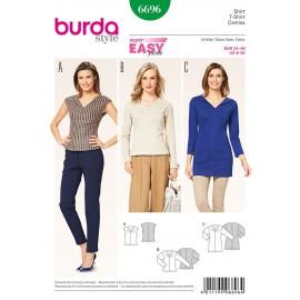 Patron T-shirt Burda n°6696