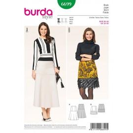 Patron Jupe Burda n°6699