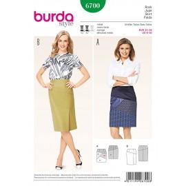 Patron Jupe Burda n°6700