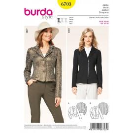 Patron Veste Burda n°6703