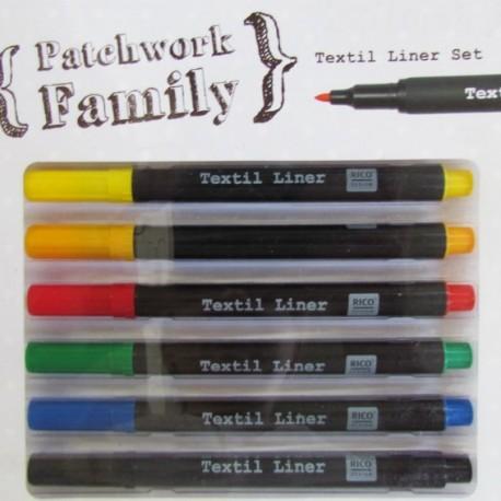 Textile liner set basic 6 pièces