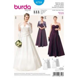 Patron Robe & Veste Burda n°6710