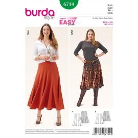 Patron Jupe Burda n°6714