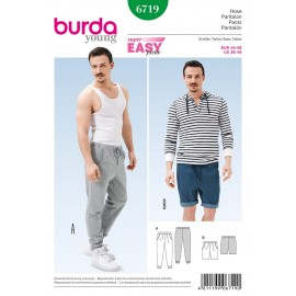 Pants Sewing Pattern Burda n°6719