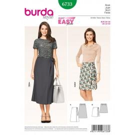 Skirt Sewing Pattern Burda n°6733