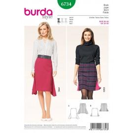 Patron Jupe Burda n°6734