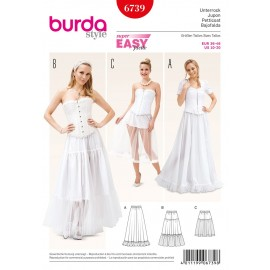Petticoat Sewing Pattern Burda n°6739