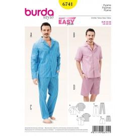 Patron Pyjama Burda n°6741