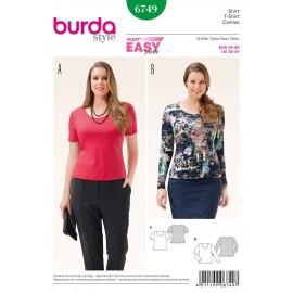 Patron T-shirt Burda n°6749
