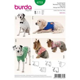 Dog Coat Sewing Pattern Burda n°6753