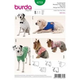 Patron Manteau pour chien Burda n°6753