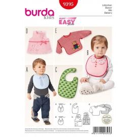 Patron Bavoir Burda n°9395