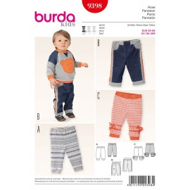 Patron Pantalon Burda n°9398