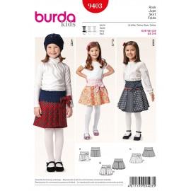 Patron Jupe Burda n°9403