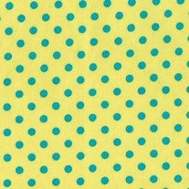 Tissu Dumb Dot Caraibe x 10cm