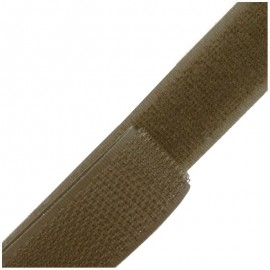 Self gripping Sew-on tape 20 mm - olive green