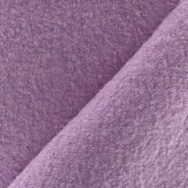 Boiled wool - lilac x 10cm