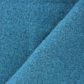 Boiled wool - azure x 10cm