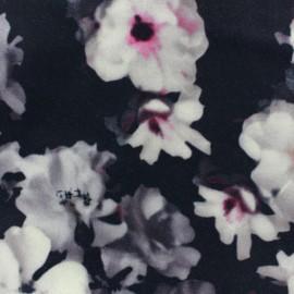 Tissu drap manteau Blossom impression digitale x 10cm