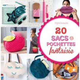 """Livre """"20 sacs & pochettes fantaisie"""""""
