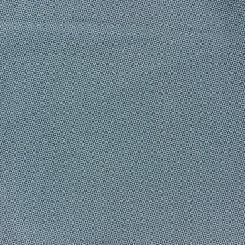 Tissu coton Charbon vert loch ness x 10cm