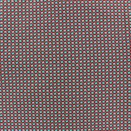 Tissu enduit coton Bruyère terre x 10cm