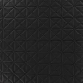 Simili cuir Pyramide noir x 10cm