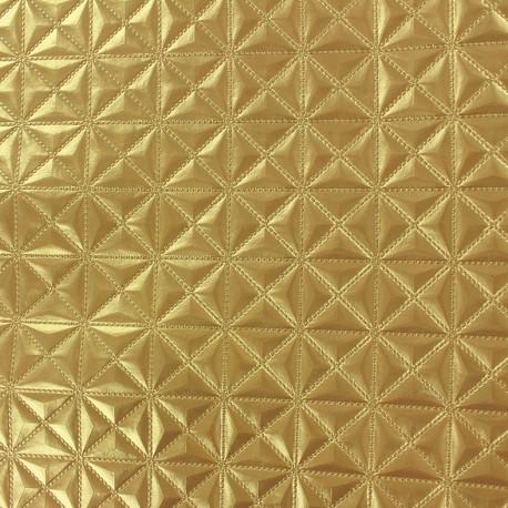 Simili cuir Pyramide or x 10cm