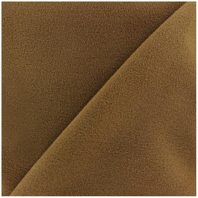 Tissu drap manteau brun x 10cm ma petite mercerie - Tissu pour drap ...