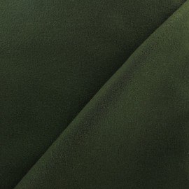 Coat woll fabric - deep green x 10cm