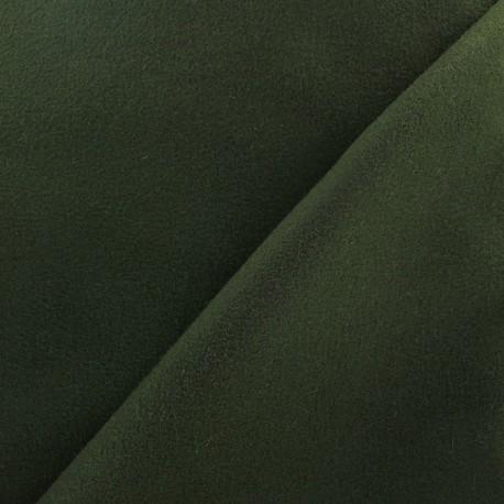 Tissu drap manteau vert profond x 10cm ma petite mercerie - Tissu pour drap ...
