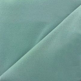 Coat woll fabric - grey blue x 10cm