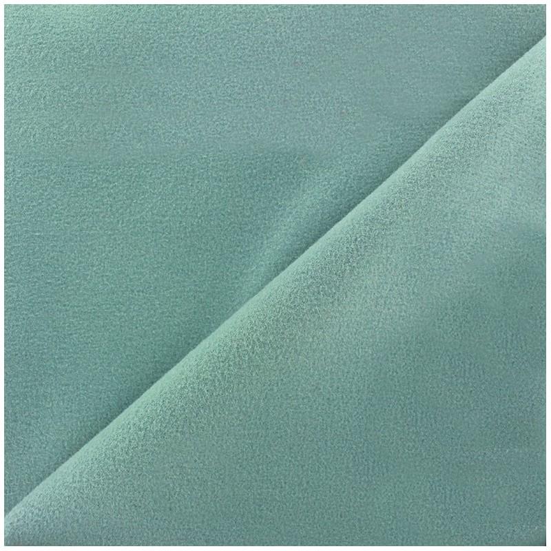 Tissu drap manteau gris bleu x 10cm ma petite mercerie - Tissu pour drap ...
