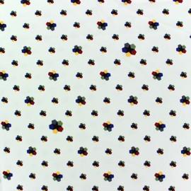 Crepe fabric Kaleidoscope - ecru x 10cm