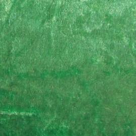 Velours frappé au mètre vert prairie