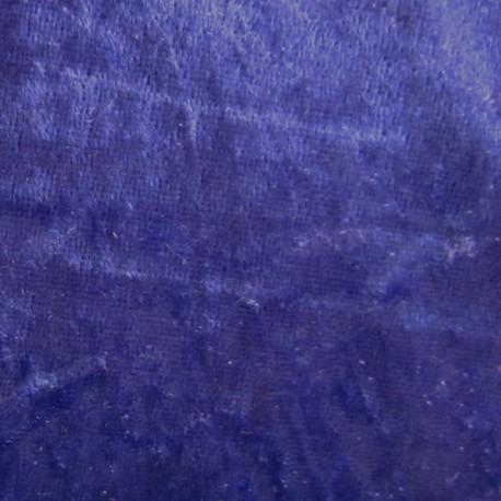 Strucked velvet fabric - navy x1m