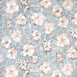 Tissu Liberty Heidi B bleu x 10cm